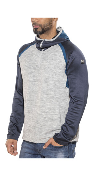 super.natural Motion Midlayer Heren grijs/blauw